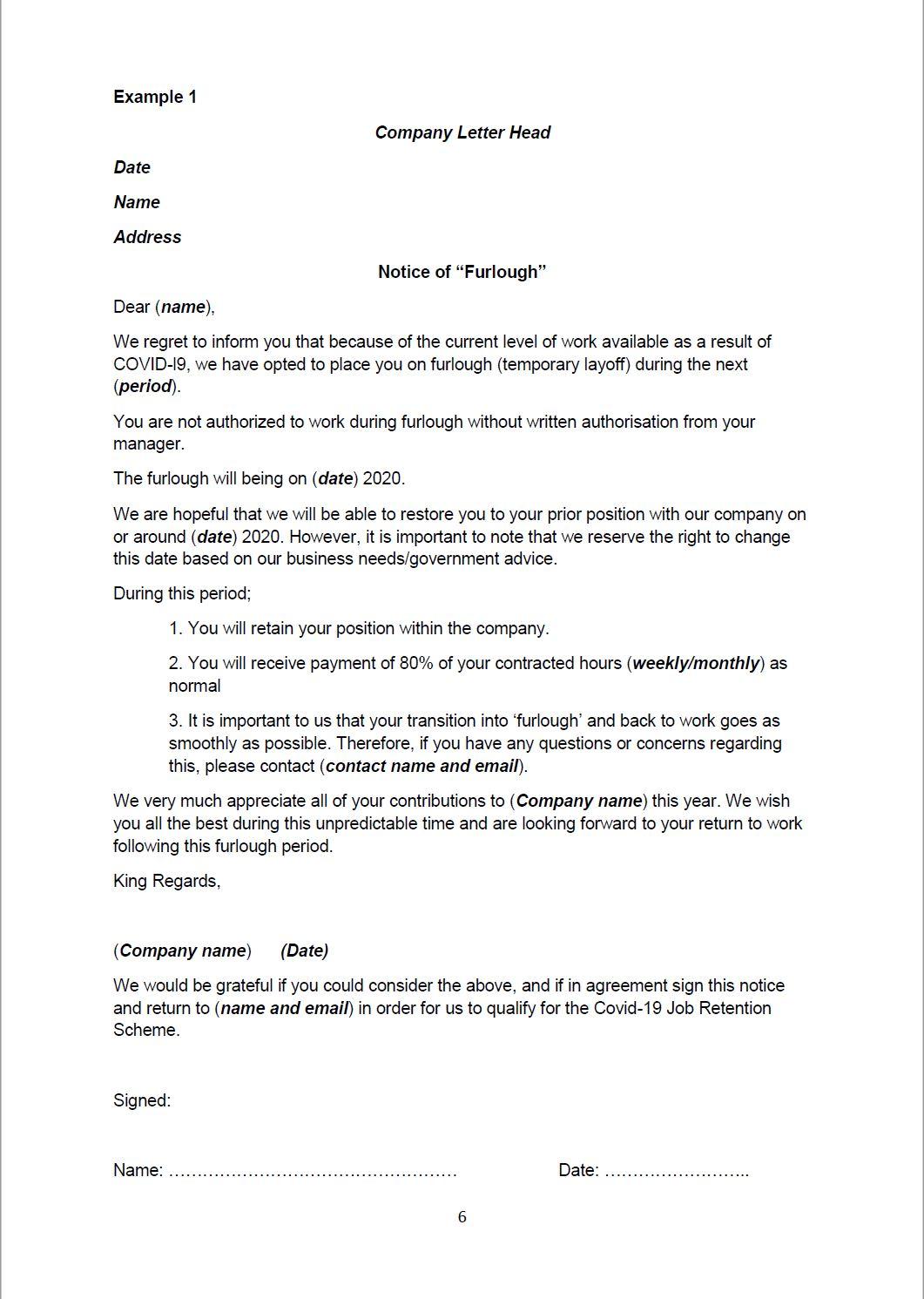 Return To Work Letter From Employer from grtglobal.com